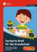Textsorte Brief für die Grundschule