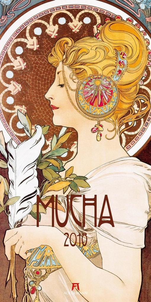 Alfons Mucha 2018 als Kalender