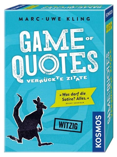 Game of Quotes - Verrückte Zitate als sonstige Artikel