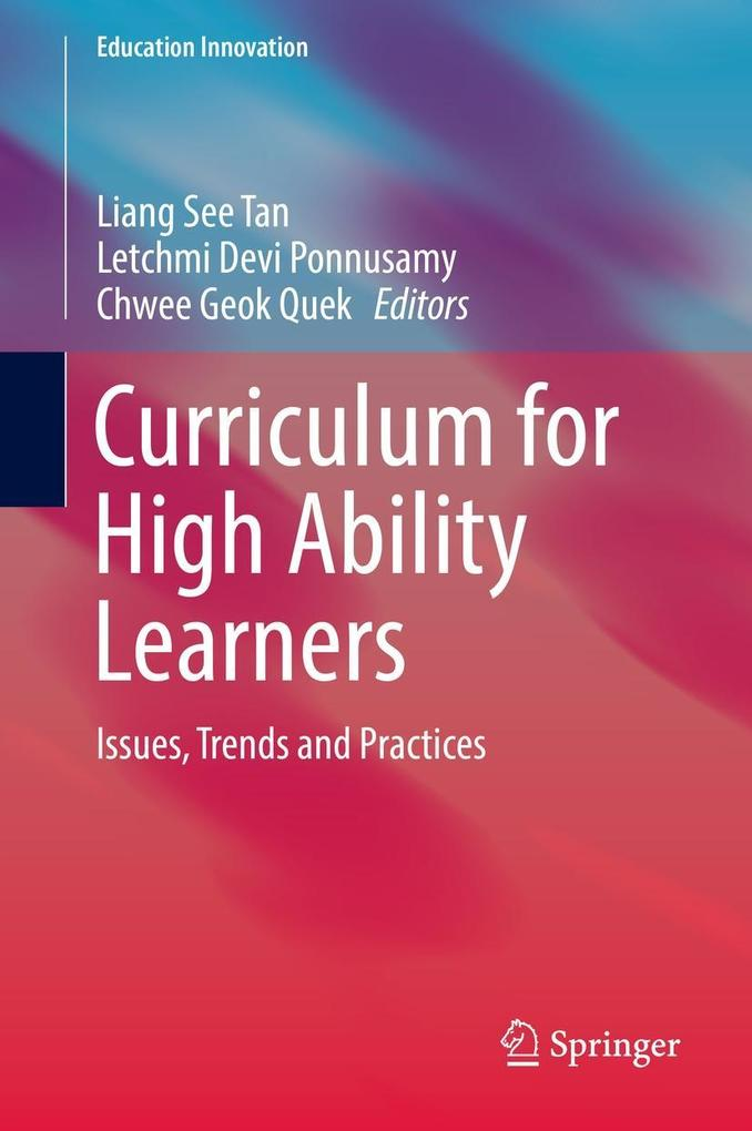 Curriculum for High Ability Learners als eBook ...