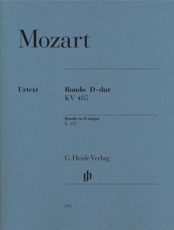 Rondo D-dur KV 485 als Buch