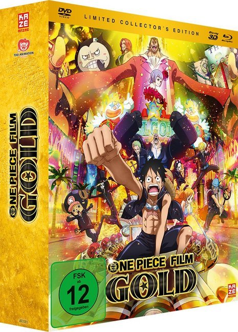 One Piece Movie 12: Gold [Limited Collector´s E...