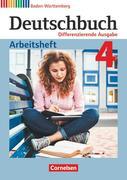 Deutschbuch Band 4: 8. Schuljahr - Differenzierende Ausgabe Baden-Württemberg - Arbeitsheft mit Lösungen