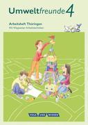 Umweltfreunde 4. Schuljahr - Thüringen - Arbeitsheft