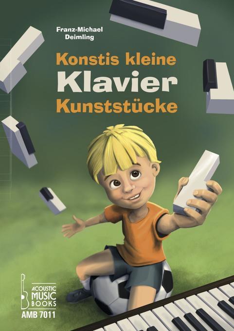 Konstis kleine Klavier-Kunststücke als Buch von...