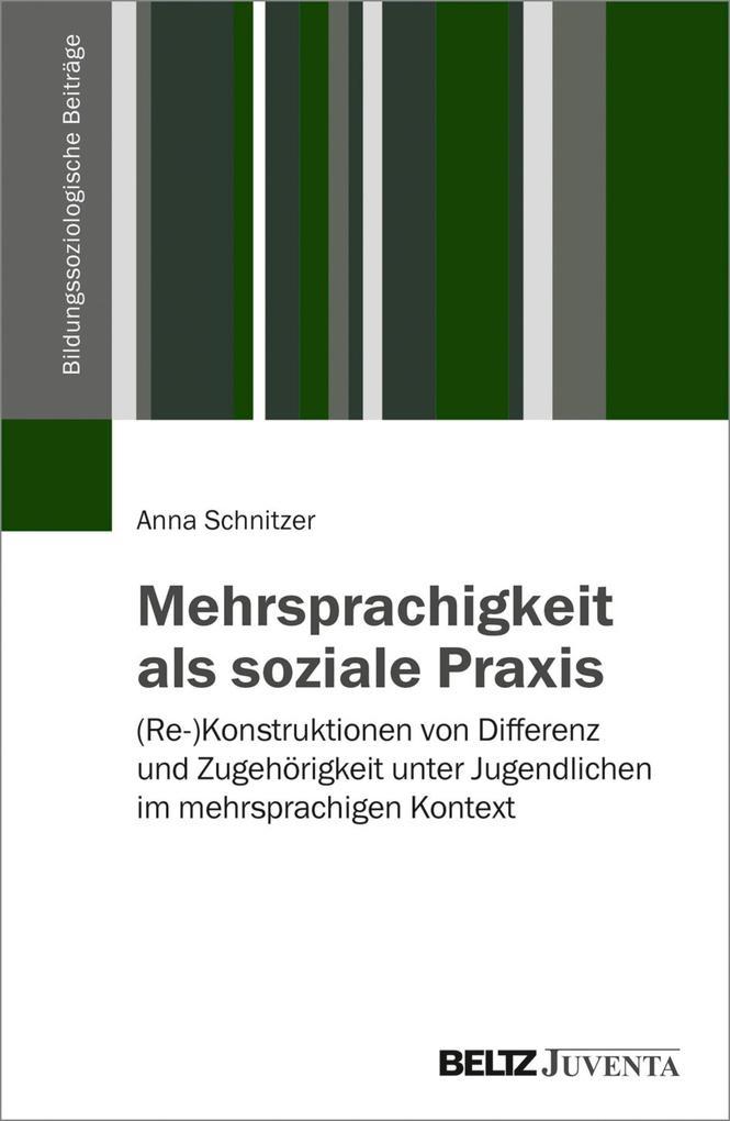 Mehrsprachigkeit als soziale Praxis als eBook D...