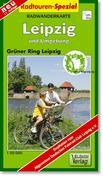 Radwanderkarte Leipzig und Umgebung