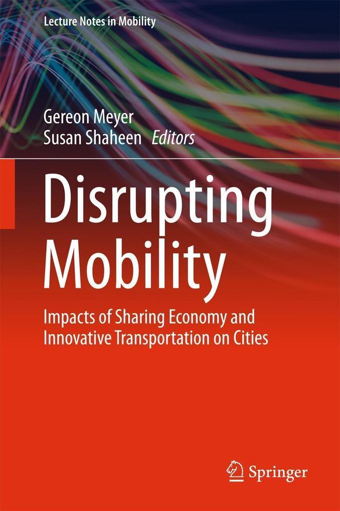 Disrupting Mobility als eBook Download von