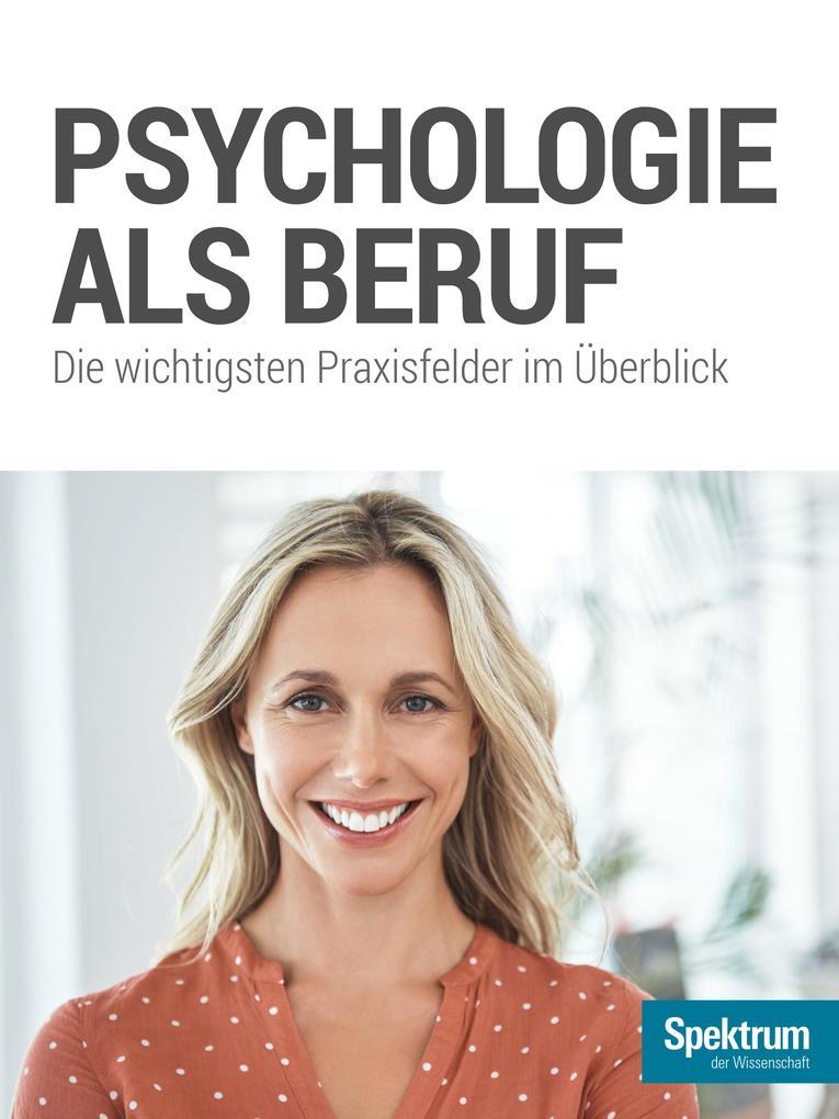 Psychologie als Beruf als eBook Download von