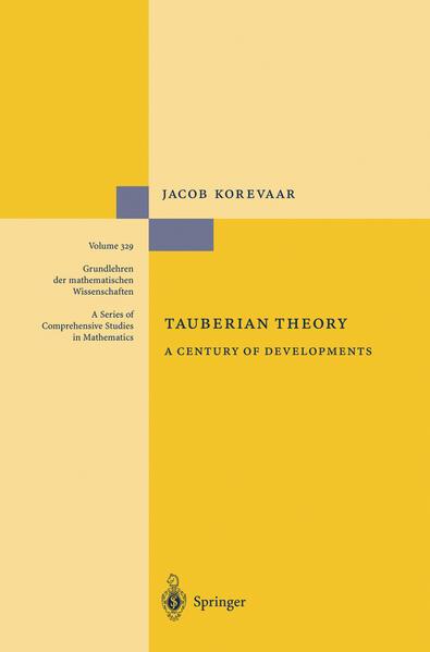 Tauberian Theory als Buch