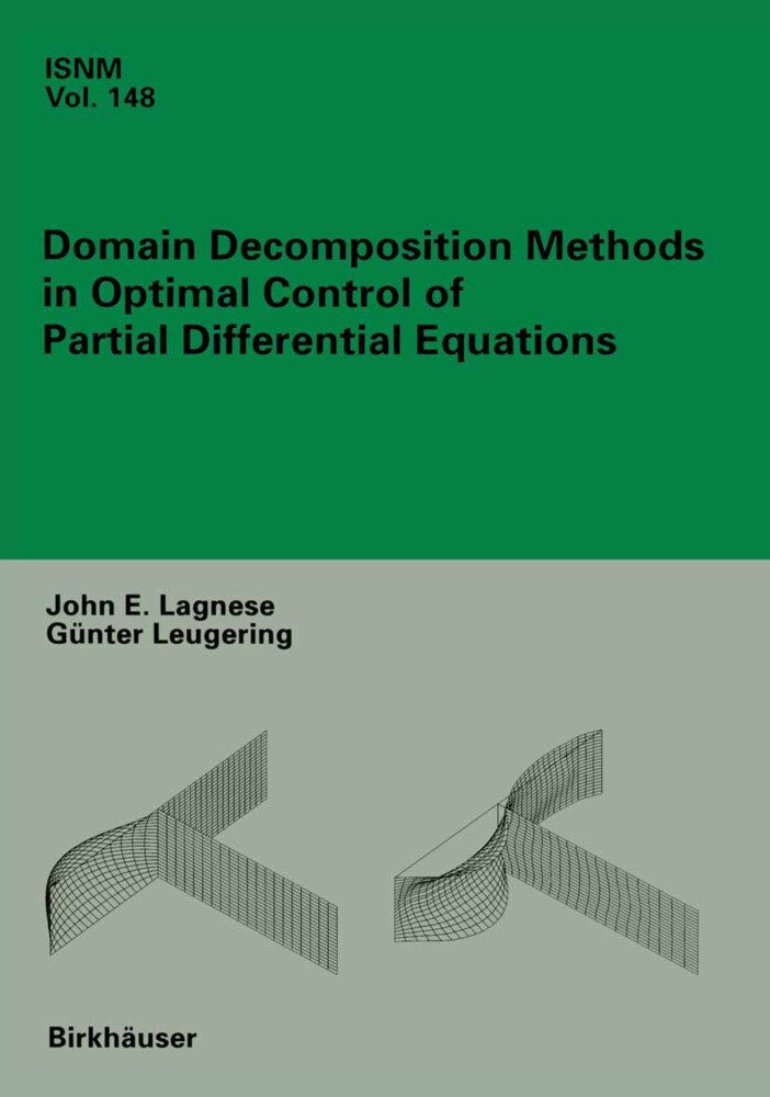 Domain Decomposition Methods in Optimal Control of Partial Differential Equations als Buch