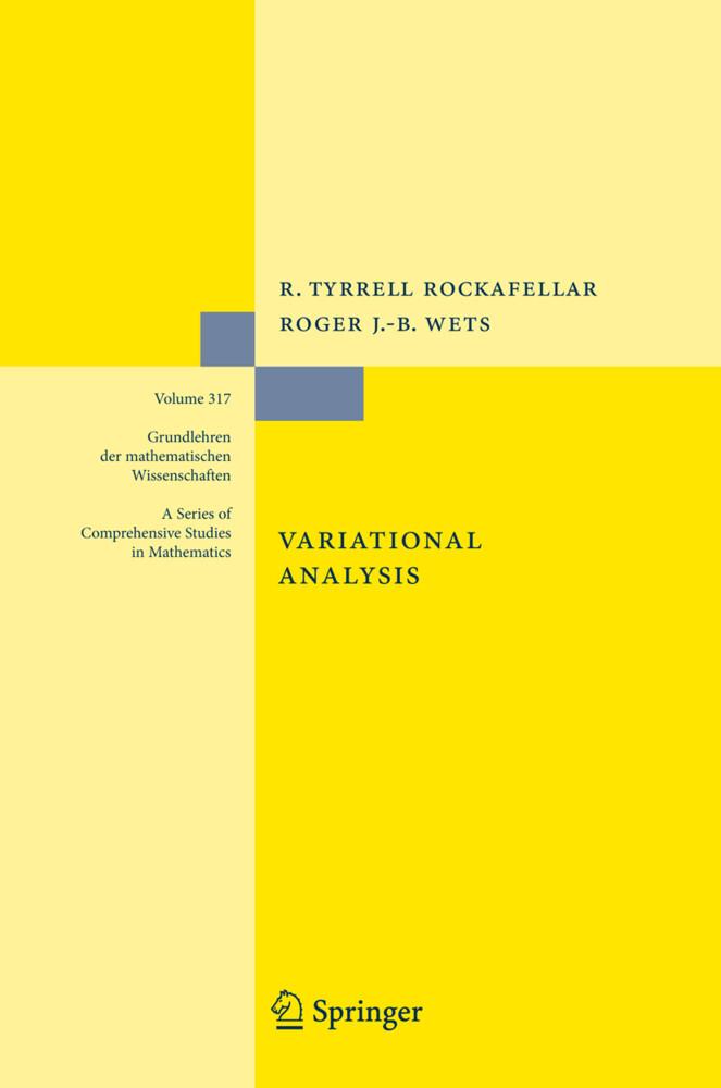 Variational Analysis als Buch