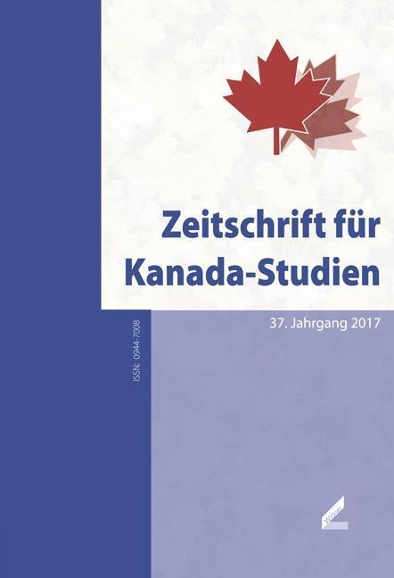 Zeitschrift für Kanada-Studien als Buch von Ale...