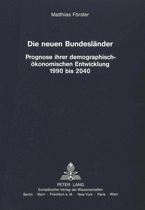 Die neuen Bundesländer als Buch von Matthias Fö...