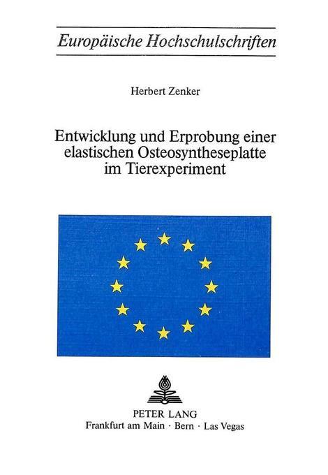 Entwicklung und Erprobung einer elastischen Ost...