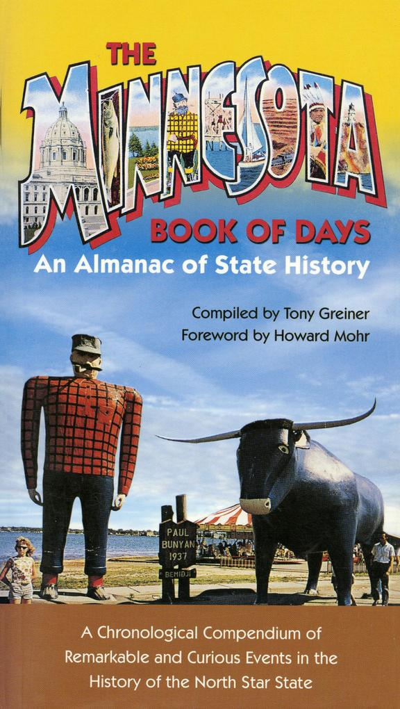 Minnesota Book of Days als eBook Download von