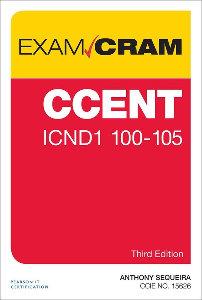 CCENT ICND1 100-105 Exam Cram als eBook Downloa...