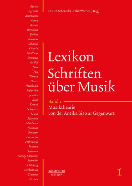 Lexikon Schriften über Musik als Buch von