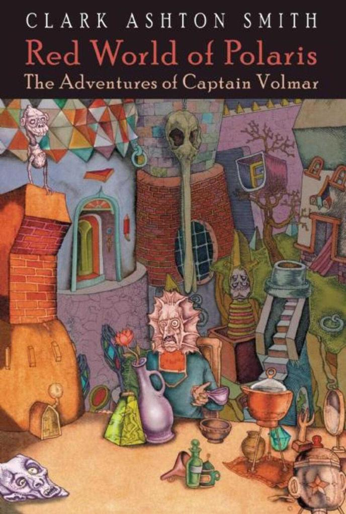 Red World of Polaris: The Adventures of Captain Volmar als Buch (gebunden)