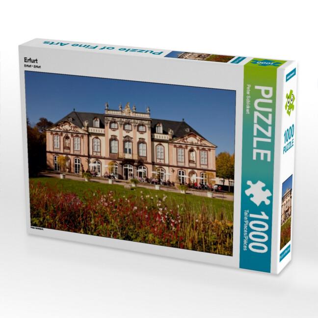 Erfurt 1000 Teile Puzzle quer