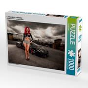 Lamborghini Aventador 1000 Teile Puzzle quer