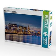Kölns südliches Panorama 1000 Teile Puzzle quer