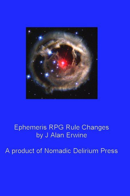Ephemeris RPG Rule Changes als eBook Download v...