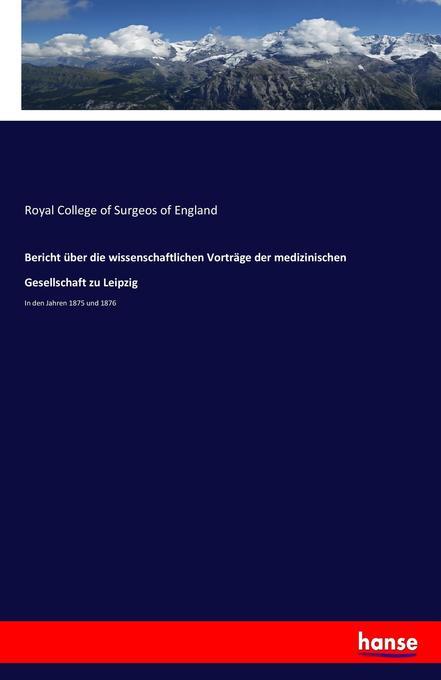 Bericht über die wissenschaftlichen Vorträge de...