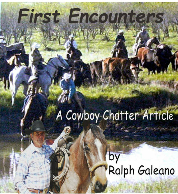 Cowboy Chatter article: First Encounters als eB...
