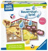 Ravensburger Spiel - ministeps - Unser Bauernhof-Spiel