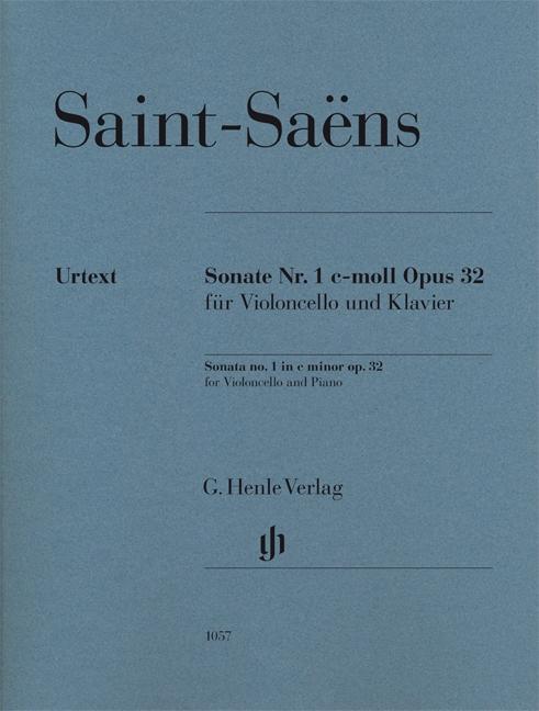 Sonate Nr. 1 c-moll Pous 32 für Violoncello und Klavier, Urtext als Buch