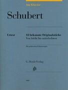 Am Klavier - Schubert