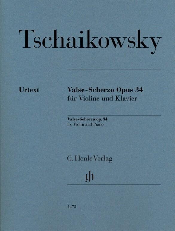 Valse-Scherzo op. 34 als Buch von Peter Iljitsc...