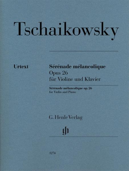 Sérénade mélancolique op.26 als Buch von Peter ...