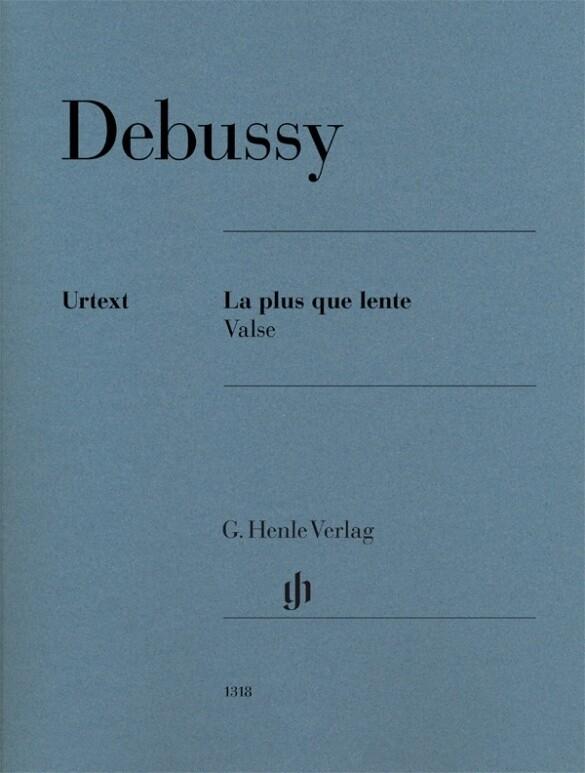 La plus que lente als Buch von Claude Debussy, ...