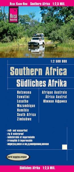 Reise Know-How Landkarte Südliches Afrika (1:2....