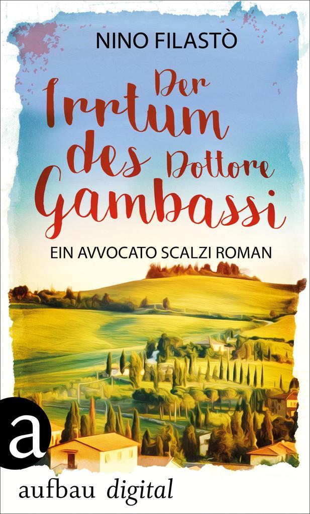 Der Irrtum des Dottore Gambassi als eBook