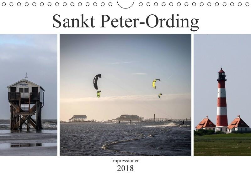 Impressionen aus Sankt Peter-Ording (Wandkalend...