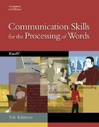 Communication Skills for the Processing of Words