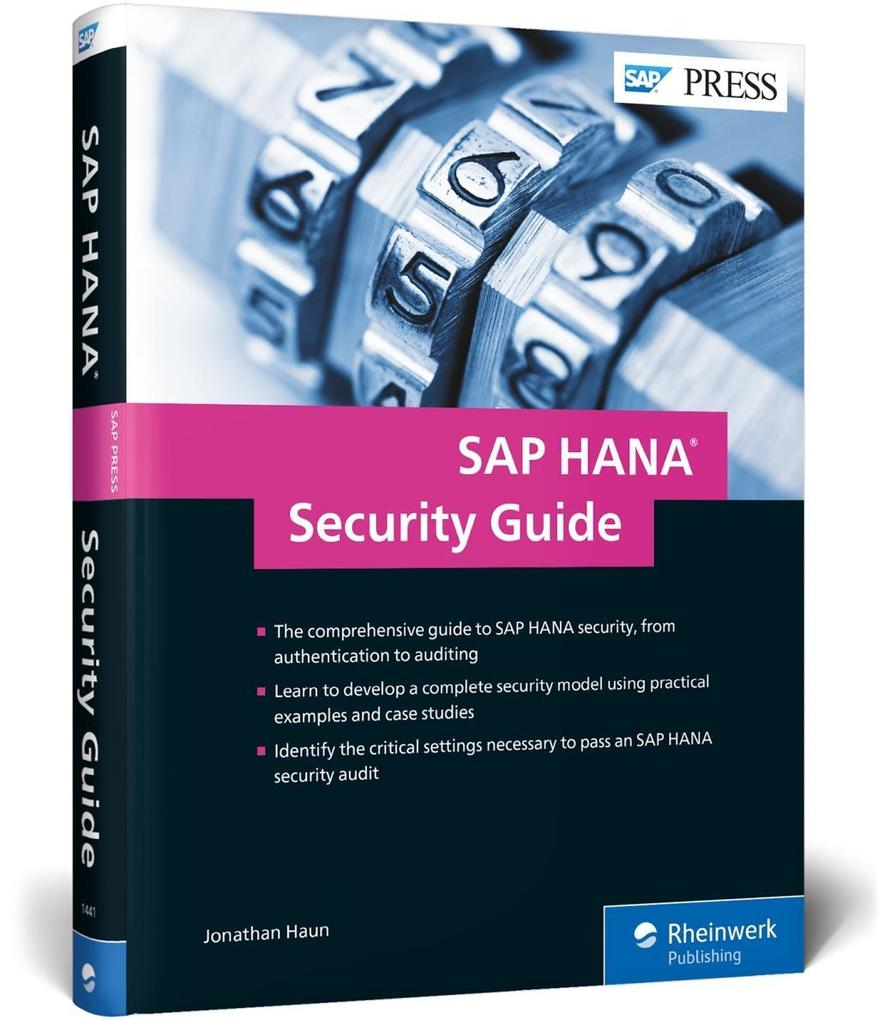 SAP HANA Security Guide als Buch von Jonathan Haun