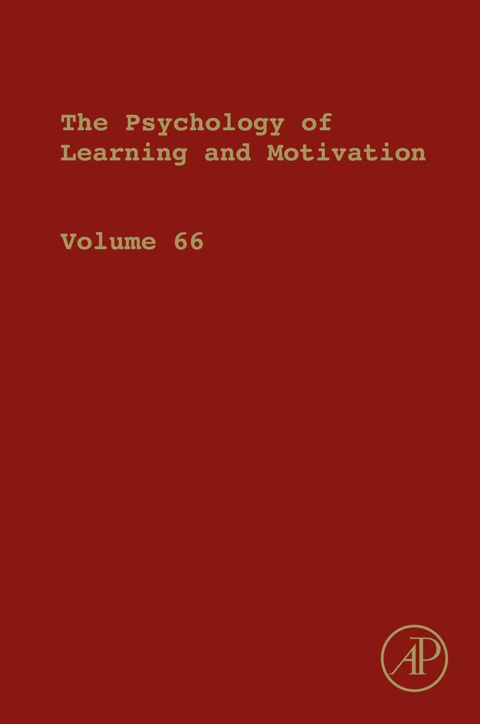 Psychology of Learning and Motivation als eBook...