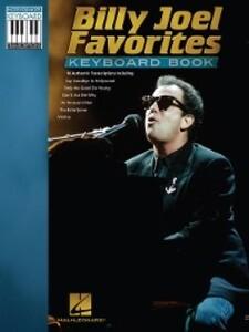 Billy Joel Favorites Keyboard Book (Songbook) a...