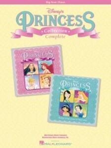 Disney´s Princess Collection Complete (Songbook...