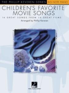 Children´s Favorite Movie Songs (Songbook) als ...