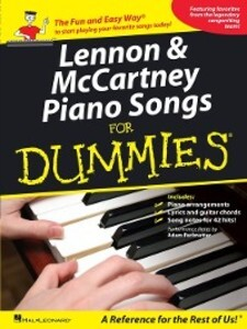 Lennon & McCartney Piano Songs for Dummies (Mus...