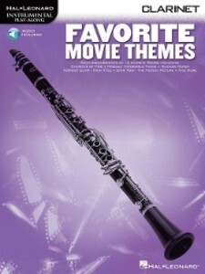 Favorite Movie Themes for Clarinet als eBook Do...