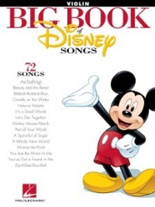 The Big Book of Disney Songs for Violin als eBo...