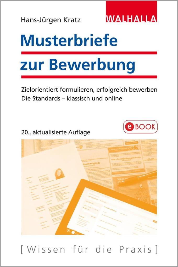 Musterbriefe zur Bewerbung als eBook Download v...