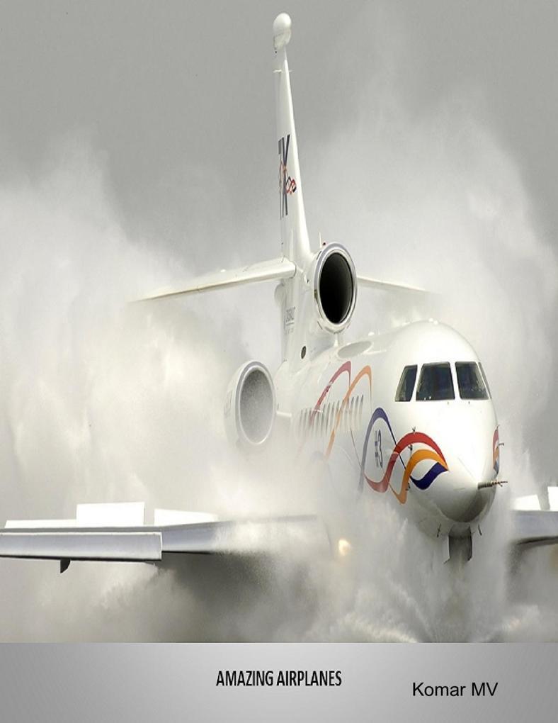 Amazing Airplanes als eBook Download von Komar MV