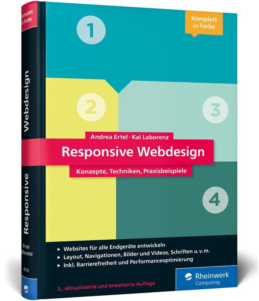 Responsive Webdesign als Buch von Andrea Ertel,...